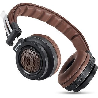 Zoook Rocker Bass X1000 On-Ear Bluetooth Headphones Brown