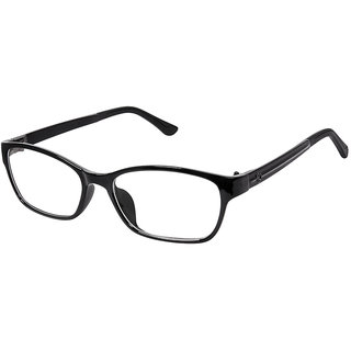 Cardon Black Rectangular Full Rim Eyeglass