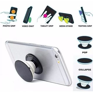 Skycandle Premium Stylish Printed Designer Pop Holder for your Phone  Tablet with Car Mount  Mobile Stand  Pack Of 1