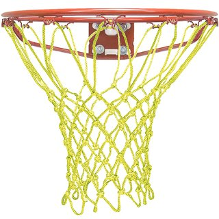 Queen Sports Basket Ball Net Yellow (only net)