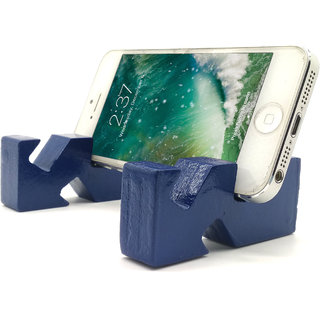 VAH  various angles  Design Mobile Phone Stand / Holder For Smartphone (Blue)