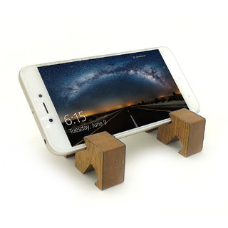 VAH  various angles  Design Mobile Phone Stand / Holder For Smartphone (Wooden)