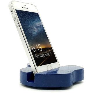 VAH  Apple Design Mobile Phone Stand / Holder For Smartphone (Blue)