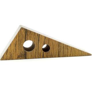 VAH  Block Wedge Design Small Non-Slip wooden Door Stoppers - To Stop Or Jam the Doors