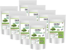 Organic Wheat grass powder 2 Kg-250 Grams (Pack of 8) Combo Offer Price