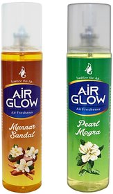 Combo of Mogra And Sandal Car or Room Air Fresheners