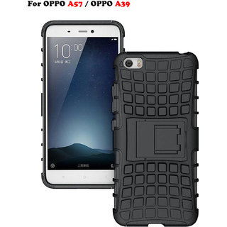OPPO A57 / OPPO A39 - KickStand Hybrid Warrior Armor Defender Back Case Cover For OPPO A57/A39