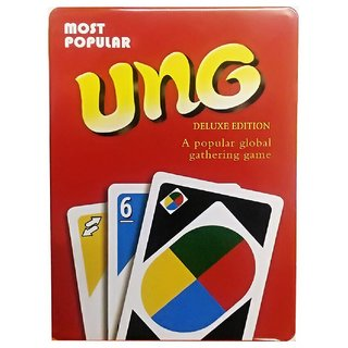 UNO Pack of 108 Fun Playing Cards for Kids