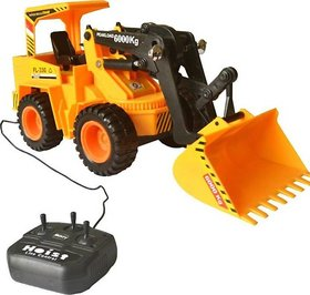 Wired Remote Control Battery Operated JCB Crane Super Truck Toy