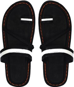 slipper leather look  for Mens stylish