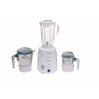 Sujata SuperMix SM 900-Watt Mixer Grinder with 3 Jars (White)