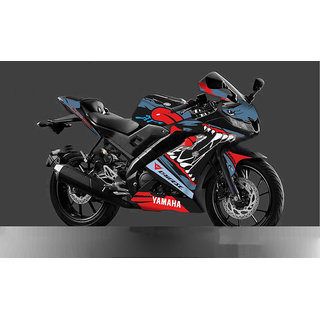 CR Decals YAMAHA R15 V3 Full Body Wrap/ Custom Decals/Stickers AGGRESSIVE MONSTER SERIES KIT