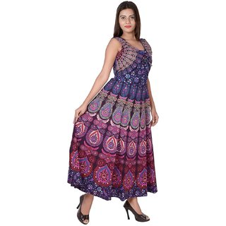 Meia Jaipuri Traditional Printed Kurti