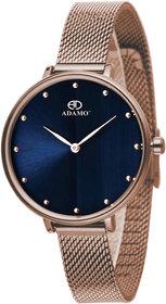 ADAMO Aritocrat Blue Dial Women's & Girl's Watch 335KKM05