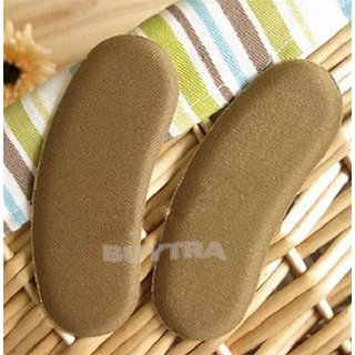 1Pair Sponge Thick Pad Sticky Shoe Back Heel Inserts Insoles Pads