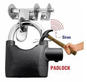Bentag MASTER Siren Alarm Lock 110Db AntiTheft Security System Door Motor Safety Lock  (Black)