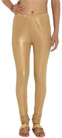 Febrina Solid simmar legging golden for women