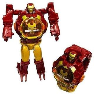 Caviors Robot Watch - Watch for Kids (Iron Man)