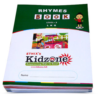 Ethix Kidzone Rhymes and Song Picture Book Set 2