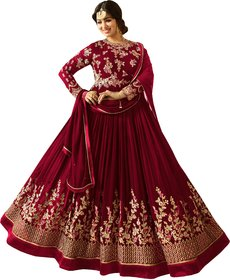 W Ethnic new designer semi stitched Anarkali colletion