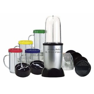 MaximHome Amazing Bullet High-Speed Blender Juicer Mixer Grinder System with Multi Purpose Use for Party 21 Piece Set