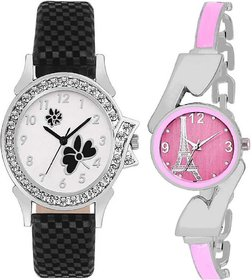 TRUE CHOICE NEW BRANDED AND BEST LOOK COMBO WATCH FOR WOMEN WITH 6 MONTH WARRNTY