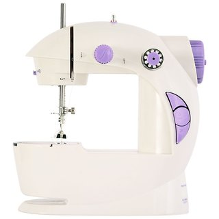 mini portable electrical sewing machhine with foot pedal