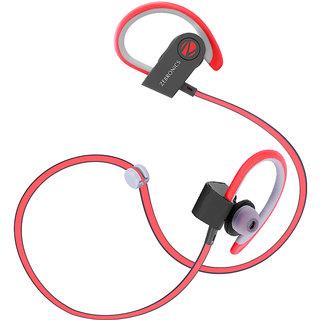Zebronics Bluetooth Earphone (Sporty) Red