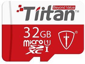 Tiitan 32  GB Class 10 MicroSD Card/ Speed up to 100 MB/s