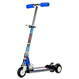 Ultra Durable Big Wheel Scooter (Blue) Ttactor wheel