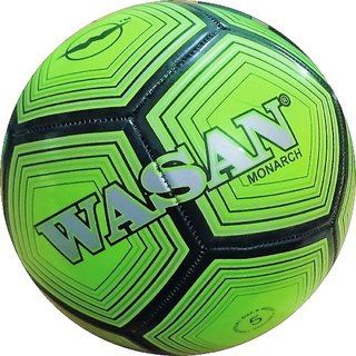 Wasan Monarch Football Size 5 Green -12 Years and Above