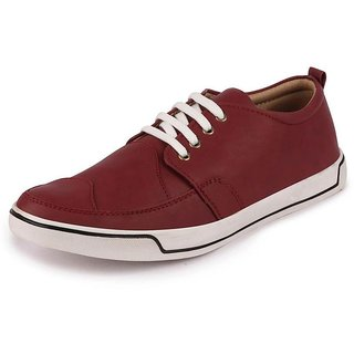 Fausto Men Casual Cherry Sneakers