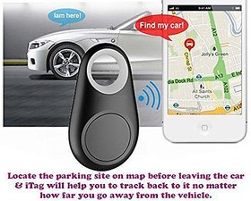 Grind Sapphire Self-portrait Theft Device Smart Alarm Anti-lost Bluetooth Tracker Key Finder for iOS and Android