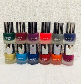 Juice Matte Nail Paint Set Of 12 - Assorted Colors