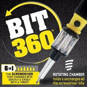 BIT 360 the 6 in 1 screwdriver