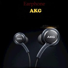 Black Cat AKG Earphone With Mic With 3.5 MM Streao For Android And iOS