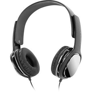 Zebronics Headphone with Mic (Shadow) (Black)