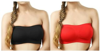 Bm fashion high quality 2 tube bra's ( color may very )