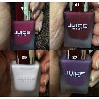 Juice Matte Nail Paints Set of 4