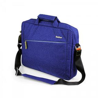 Dasfour Unisex Hi-Style Oxford Office Laptop Bag Messenger 14.1, Sapphire Blue