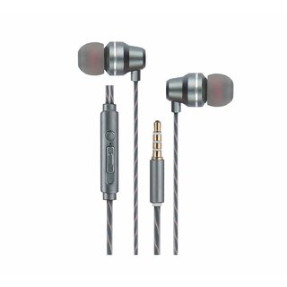 Zebronics Moksha Premium Wired In-Ear Earphone With Mic 3.5Mm With Call Function Volume Control