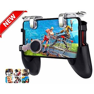 Gamepad Controller Joystick 5 in 1 Mobile  with l1 r1 Metallic Trigger Metal for 4.5-6.5 inch for PUBG/Fortnite/Rules