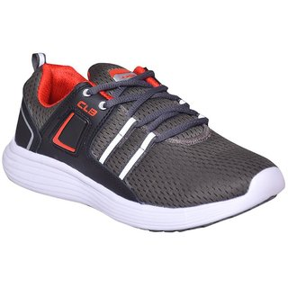 Columbus Grey Color Running Shoes