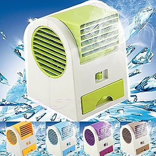 CPEX Usb Small Conditioner Fan Cooling Portable Desktop Dual Bladeless