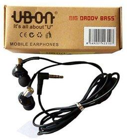 UBON UB-1085 In Ear Wired Earphones With Mic