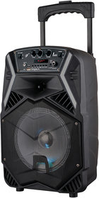 Impex TS 25B Multimedia Trolley Speaker System with USB/FM/AUX/MIC/Bluetooth