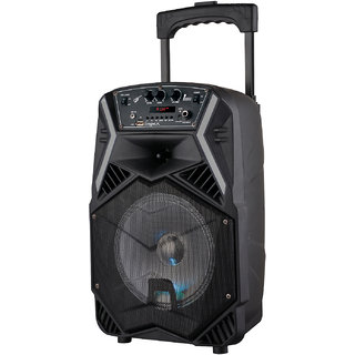 Impex TS 25B Multimedia Trolley Speaker System with USB/FM/AUX/MIC/Bluetooth