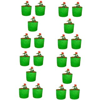 Grow Bag for terrace gardening ( 6 X 5)  Pack of 20 Bags