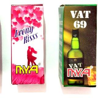 Pen hookah liquid Leony Kiss + Vat 69 flavour combo