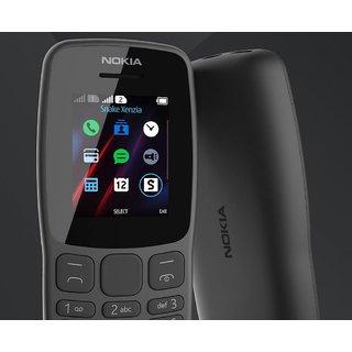 Nokia 106 Dual Sim 4 MB Phone With FM And Music Ringtones